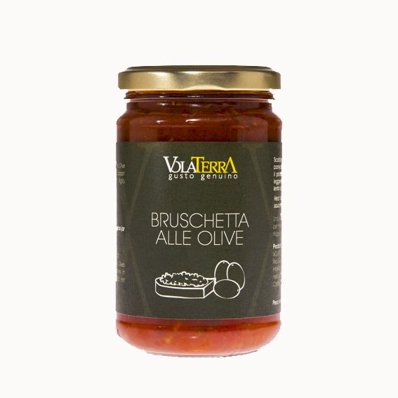 Salsa VolaterrA Bruschetta alle olive